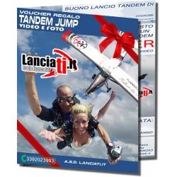 VOUCHER LANCIO IN TANDEM CON VIDEO E FOTO
